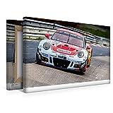Calvendo Leinwand Frikadelli Racing Team - Porsche 991 GT3R 45x30cm, Special-Edition Wandbild, Bild auf Keilrahmen, Fertigbild auf hochwertigem Textil, Leinwanddruck, kein Poster