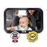 InnooTech Baby Spiegel Rücksitzspiegel Autospiegel für Babys im Reboard Kindersitz