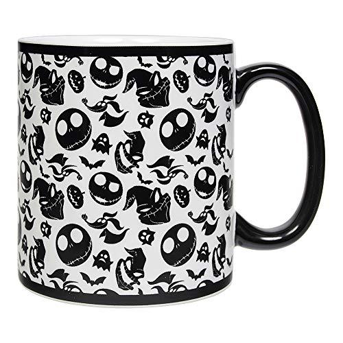 Disney Nightmare Before Christmas Oogie Jack and Zero mug (Jack Skellington Gesichter)