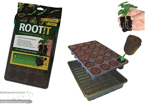 root-it-24-propagation-insert-trays-starter-plugs-seeds-cuttings-base-root-roott-24-cell-filled