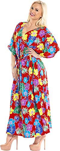 08ecd69bf ... Mujeres caftán túnica Impreso Kimono Libre tamaño ... Benvenuti a La  Leela dove la vita è una spiaggia. usufruire della spiaggia