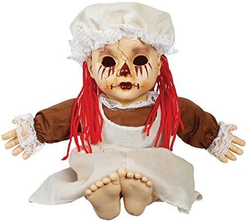Gespenstisch Geräusche tradgedy Rag Puppe Halloween Kostüm Kleid Outfit (Für Outfits Halloween Puppen)