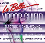 Labella VSE942 Vapor Shield Jeu de cordes pour Guitare électrique Violet