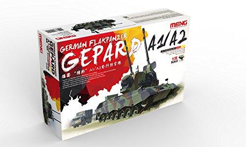 Preisvergleich Produktbild Meng TS-030 - Modellbausatz German Flakpanzer Gepard A1/A2