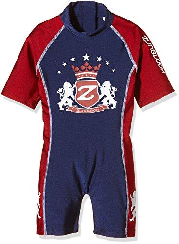Zunblock Baby UV 50 Plus Anzug Lion, Navy/Red, 74/80