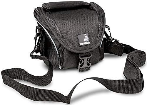 BODYGUARD 5* Tasche schwarz - passend für Canon PowerShot G1 X Canon PowerShot G3 X Canon PowerShot SX60 HS Canon EOS M100 Canon EOS M10 Canon EOS M3 Samsung WB1100F Nikon Coolpix B700 Samsung NX300