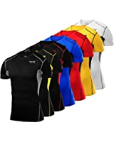Mens & Boys TCA HyperFusion Compression Base Layer Top Short Sleeve Under Shirt