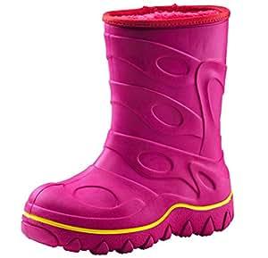McKinley rock bottes en caoutchouc Pink dark Taille 33