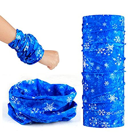 Ezyoutdoor 10-in-1 Multifunctional Microfiber Sports Headwear Headband Bandana Magic Scarf