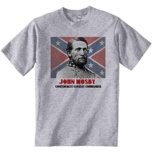 teesquare1st Men's John Mosby Grey T-Shirt