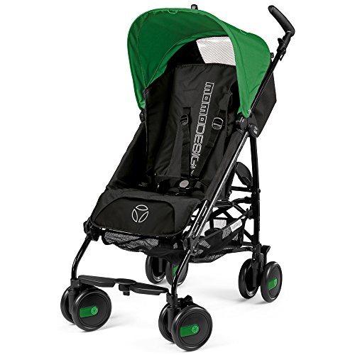 Peg perego passeggino pliko mini, momodesign verde