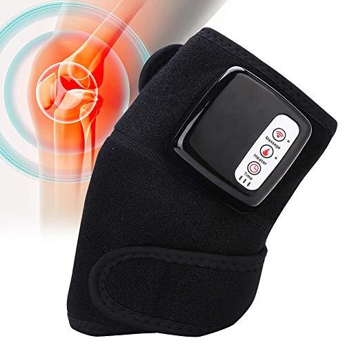 Knie Massagegerät Elektrisches Kniemassager Kniemassagegerät für Schmerzlinderung zur Knie Ellenbogen mit Wärme Infrarot Magnetfeldtherapie Knie Therapie intelligente Temperaturregelung 45-60 (Infrarot-therapie-massagegerät)