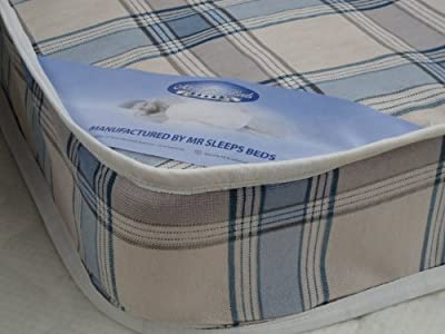 Luxury Single 3ft x 6ft3 (90 x 190 cm) Spring Mattress Brand NEW, Made to UK Fire Regs