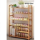 YLLXJ Estante de zapatos de bambú Listones Hogar Hogar Conjunto de múltiples capas Shoebox Tipo económico Banco de zapatos Estante de almacenamiento de zapatos de bambú natural 100% (Tamaño : C1)