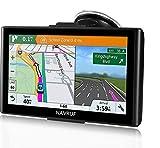 GPS para Coche Pantalla Táctil de 7 Pulgadas Navegador GPS Mapas de la UE preinstalados...