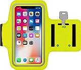 Brazalete Deportivo Xiaomi Mi A2 de Neopreno Antideslizante antisudor con Bolsillo para Llaves Cable Tarjetas Brazalete Running Xiaomi Mi A2 Brazalete para Xiaomi Mi A2 (Amarillo)