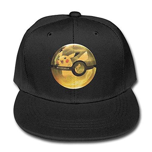 Imagen de  para niños con diseño de pikachu de pokemon go ajustable , color negro, de la marca feruch