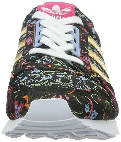 adidas ZX 500 OG, Sneakers basses femme Noir - Schwarz (Core Black/Gold Met./Merlot F15-St)