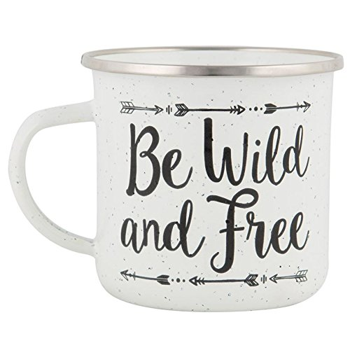 sass-and-belle-be-wild-and-free-adventure-speckled-enamel-mug