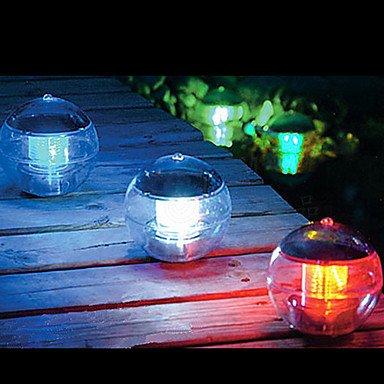 H&M Farbwechsel LED schwimmendes Solarlicht Kugeln Teich Poolbeleuchtung