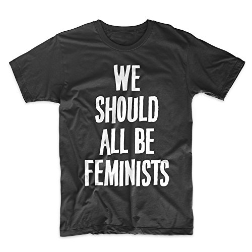 We Should All Be Feminists Feminist Herren T-Shirt Schwarz