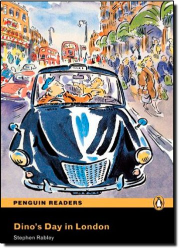 Penguin Readers ES: Dino's Day in London Book & CD Pack: Easystarts (Pearson English Graded Readers) - 9781405880565 por Stephen Rabley