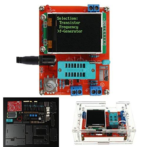 LaDicha DIY/Assemblé Gm328 Transistor Testeur Diode Capacité LCR Générateur avec Étui Kit - Kit De Démontage