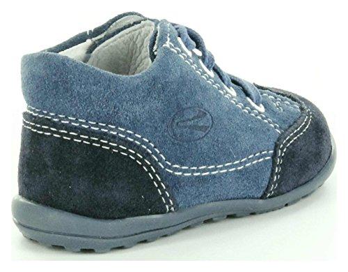 Richter Kinderschuhe Mini 0022-523 Baby Jungen Krabbelschuhe Blue - BLUE