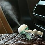 Seakin Mini Humidificateur d'Air Voiture Purificateur d'air 50ml Capacité Mini Diffuseur D'Huiles Essentielles de Voiture Portable Diffuseur de Voiture Aroma Aromathérapie (Bleu)