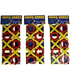 Perpetual Bliss (Pack Of 6) Criss Cross Game For Kids, Return Gift For Kids Birthday Party (for More Gifts Search For Perpetual Bliss)