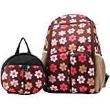 Generic Mummy Tote Shoulder Nappy Diaper Bags Baby Backpack - Brown