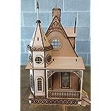 Melody Jane Dolls Houses Miniatura para Casa De Muñecas 1:12 Corte Lazer Gótico Victoriano