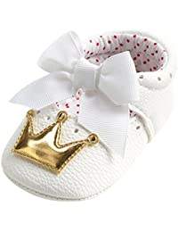 Scarpine neonato Bowknot Scarpe Bambino Scarpe Casuali - Royal UOMOGO Scarpine neonato 6-18 Mesi