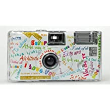 Single use cámara Flash 400 27 I mog di blanco