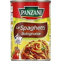 Panzani Le spaghetti bolognaise La boîte de 400g - Prix Unitaire - Livraison Gratuit Sous 3 Jours