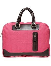 Campus Sutra 15 Inch Laptop Handbag (AZ17AS_LLB_PLN_PNK_AZ)