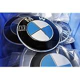 Logo emblème BMW pour capot ou rabat arrière–82mm
