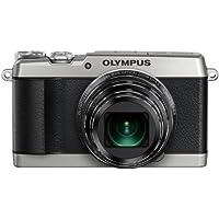 """Olympus SH-1 - Cámara compacta de 16 Mp (pantalla de 3"""", zoom óptico 24x, estabilizador digital, vídeo Full HD, WiFi), plateado"""