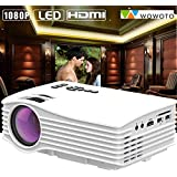 WOWOTO H36 Mini LED Portable Projector Full HD Support Home Theater USB/AV/HDMI