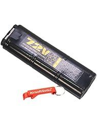 WELL 7.2v 450mAh NI-MH Micro Bater?as para MP7 / R4 Serie AEP - AirsoftGoGo Llavero Incluido