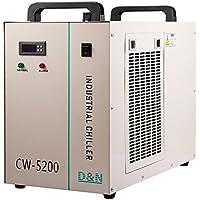 Autovictoria Water Chiller 6L Enfriador de Agua Industrial 10L / min Enfriador de Agua Enfriador 1400W