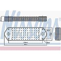 Nissens 90715 Radiador de Aceite Motor