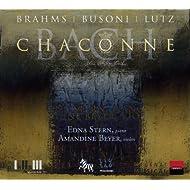 Busoni, Lutz, Brahms, Bach: Chaconne