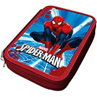 Atosa-33246 Marvel Estuche Niño Spiderman Color Azul (33246