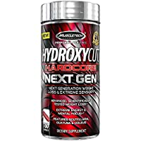 Muscletech Hydroxycut Hardcore Next Gen Dietary Supplement, 100 Capsules