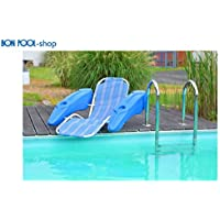 Poltrona con portabibite nuoto Bon piscina