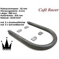 Cafe Racer Loop Scrambler Bobber Ø 22 x 2/Breite 235 x Länge 260 mm
