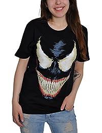 Marvel - T-Shirt - Col Rond - Manches Courtes Homme -  Noir - XX-Large
