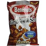 Benenuts Cacahuètes grillées à secs 120 g - Lot de 8