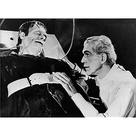 Boris Karloff and Bela Lugosi in